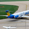 2009 - Allegiant Airlines MD83 - Greater Peoria Regional Airport - Peoria Illinois - September 26th - 9