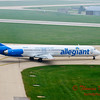 2009 - Allegiant Airlines MD83 - Greater Peoria Regional Airport - Peoria Illinois - September 26th - 11