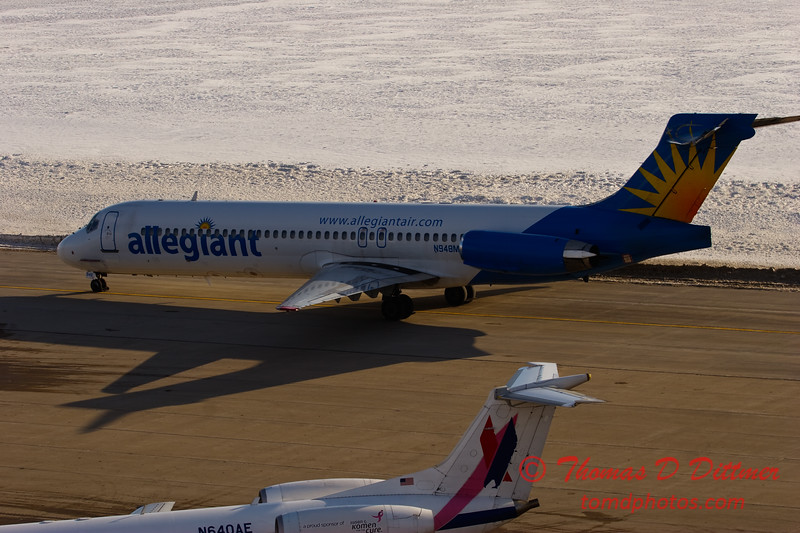 2010 - Allegiant Airways - Greater Peoria Regional Airport - Peoria Illinois - January 6th - 26