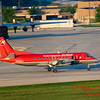 SF34 - Saab Fairchild 340 - Greater Peoria Regional Airport - Peoria Illinois - June 5 2009 - 4