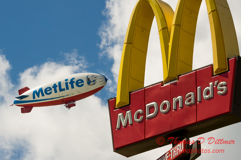 "MetLife ""Snoopy II"" Blimp - #13"