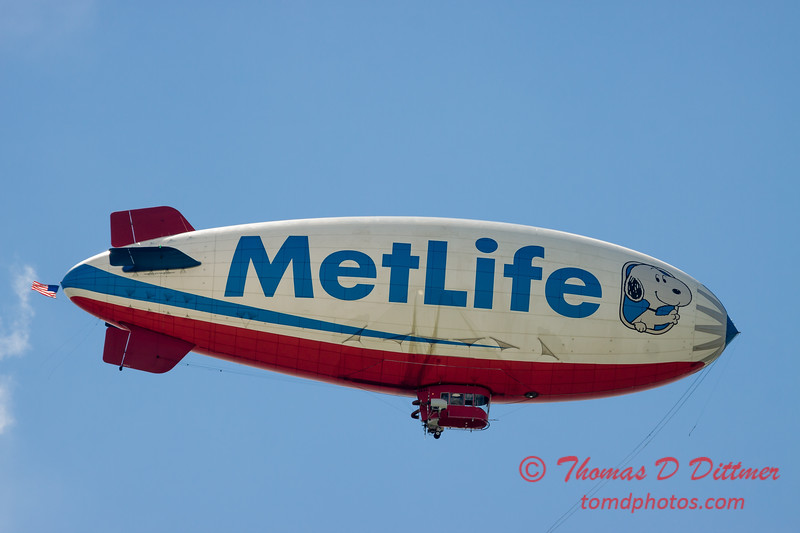 "MetLife ""Snoopy II"" Blimp - #11"