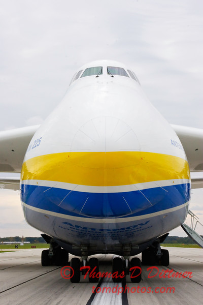 Antonov AN 225  at Peoria Illinois for Emergency Relief Mission to American Samoa - <br>  October 10, 2009 - 40