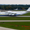 Antonov AN 225  at Peoria Illinois for Emergency Relief Mission to American Samoa - <br>  October 10, 2009 - 122