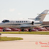 25 - Hawker/Beechcraft 800XP taxies for departure at Wings over Waukegan 2012