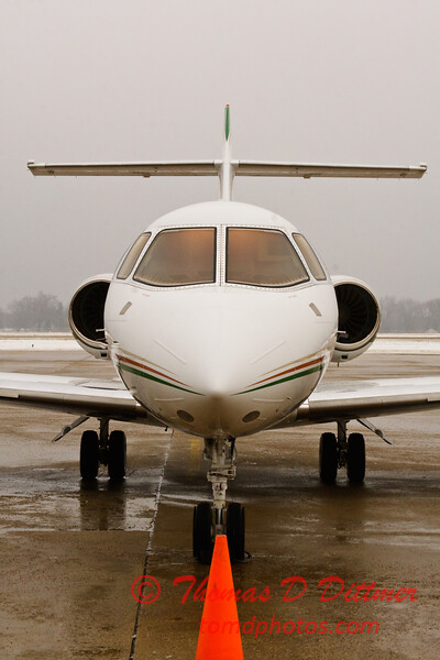 2010 - Hawker - Beechcraft Corp - Greater Peoria Regional Airport - Peoria Illinois - January 21 - 4