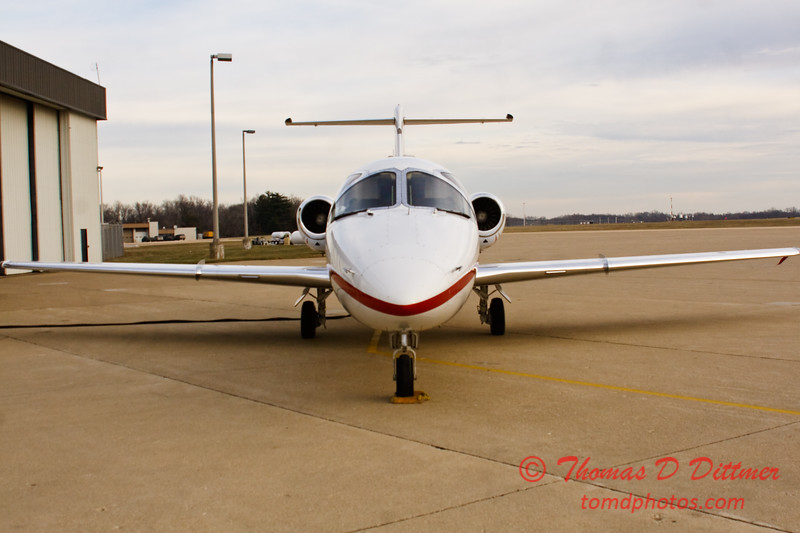 N909ST - Byerly Ramp - Greater Peoria Regional Airport - Peoria Illinois - December 17th 2009 - 4
