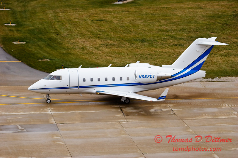 N657CT - Greater Peoria Regional Airport - Peoria Illinois - December 13th 2009 - 8