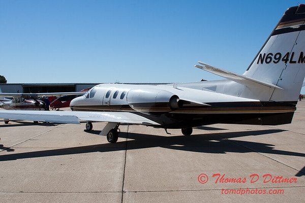 50 - A Cessna Citation on the ramp at the South East Iowa Air Show in Burlington Iowa