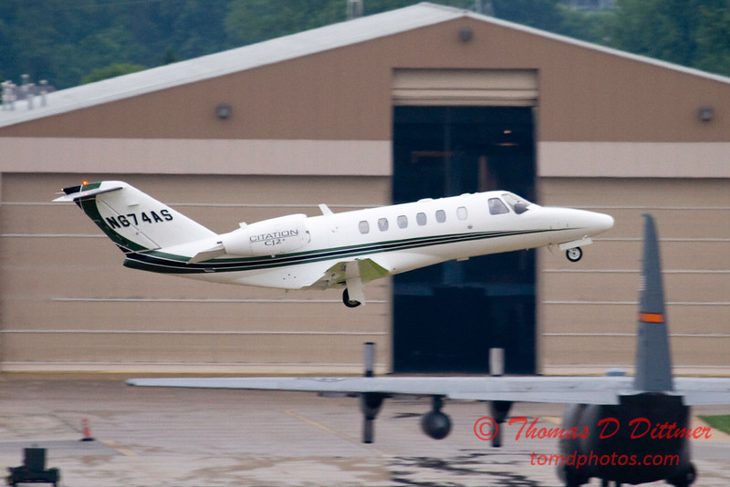 N674AS - C525 - Citation - Peoria Regional Airport - Peoria Illinois - June 3 2009 - 5