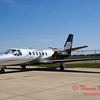 Citation 550 - Image Air Ramp - Central Illinois Regional Airport - Bloomington Illinois - May 18 2009 - 2