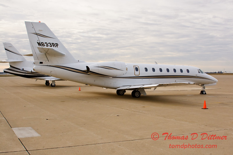 N633RP - Byerly Ramp - Greater Peoria Regional Airport - Peoria Illinois - December 17th 2009 - 15