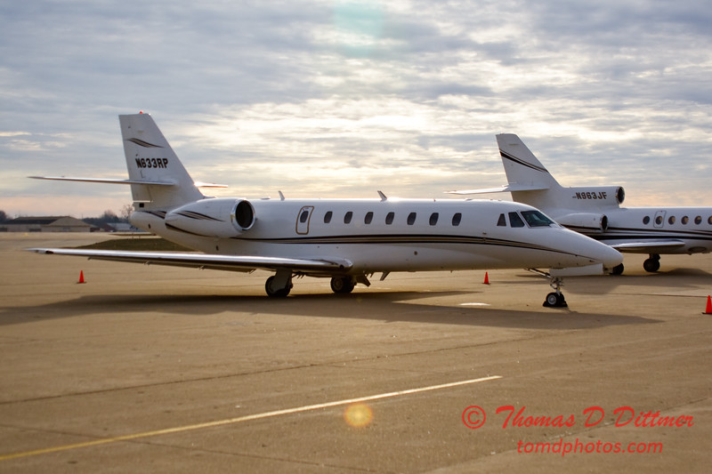 N633RP - Byerly Ramp - Greater Peoria Regional Airport - Peoria Illinois - December 17th 2009 - 1