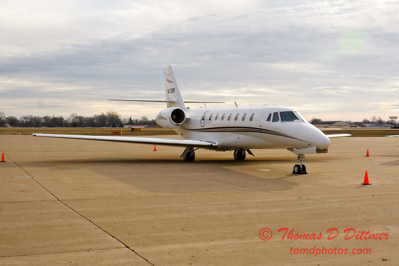 N633RP - Byerly Ramp - Greater Peoria Regional Airport - Peoria Illinois - December 17th 2009 - 5