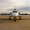 N963JF - Byerly ramp - Greater Peoria Regional Airport - Peoria Illinois - December 17th 2009 - 4