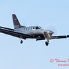 33 - A TBM 700 approaches Runway 20 for landing at Central Illinois Regional Airport - Bloomington Illinois - Sunday March 9th 2014