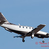 37 - A TBM 700 approaches Runway 20 for landing at Central Illinois Regional Airport - Bloomington Illinois - Sunday March 9th 2014