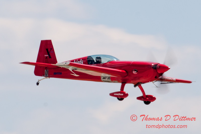 541 - Jack Knutson in the Extra 300s performs at the 2012 Rockford Airfest - Chicago Rockford International Airport - Rockford Illinois - Sunday June 3rd 2012