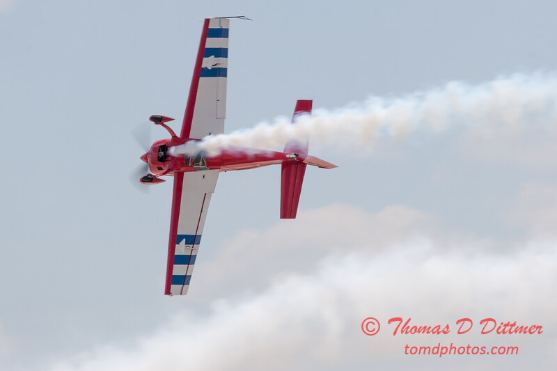 539 - Jack Knutson in the Extra 300s performs at the 2012 Rockford Airfest - Chicago Rockford International Airport - Rockford Illinois - Sunday June 3rd 2012