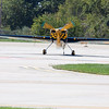 675 - Darrell Massman in his S330 returns and taxies to parking Panzl at the South East Iowa Air Show in Burlington Iowa