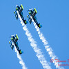 138 - The Vanguard Squadron perform in their ethanol powered RV3's at the South East Iowa Air Show in Burlington Iowa