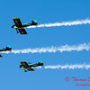 162 - The Vanguard Squadron perform in their ethanol powered RV3's at the South East Iowa Air Show in Burlington Iowa