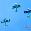 144 - The Vanguard Squadron perform in their ethanol powered RV3's at the South East Iowa Air Show in Burlington Iowa
