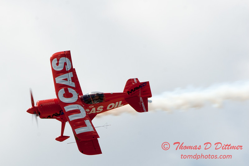 126 -  Mike Wiskus and the Lucas Oil Pitts perform at the 2012 Rockford Airfest - Chicago Rockford International Airport - Rockford Illinois - Sunday June 3rd 2012