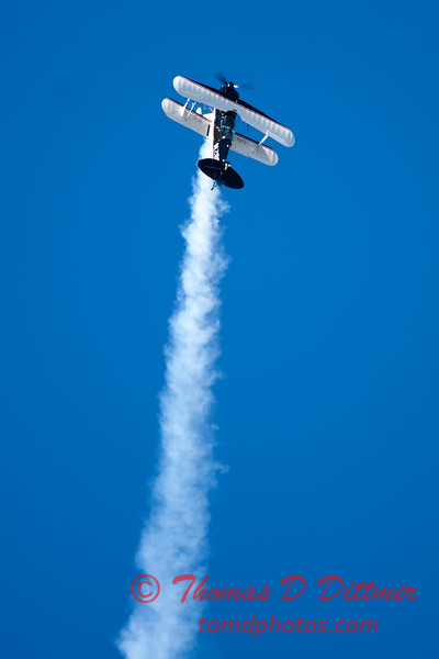 177 - Dick Schulz and the Raptor Pitts perform at the South East Iowa Air Show in Burlington Iowa