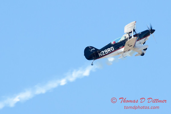 193 - Dick Schulz and the Raptor Pitts perform at the South East Iowa Air Show in Burlington Iowa