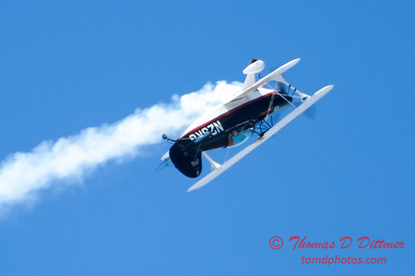 199 - Dick Schulz and the Raptor Pitts perform at the South East Iowa Air Show in Burlington Iowa