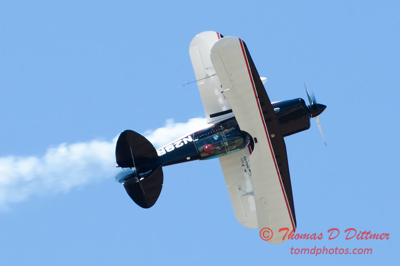 206 - Dick Schulz and the Raptor Pitts perform at the South East Iowa Air Show in Burlington Iowa