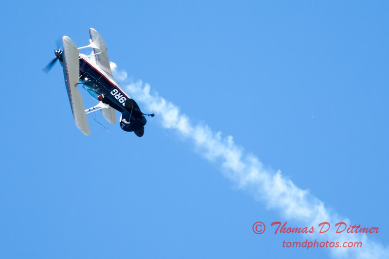 202 - Dick Schulz and the Raptor Pitts perform at the South East Iowa Air Show in Burlington Iowa