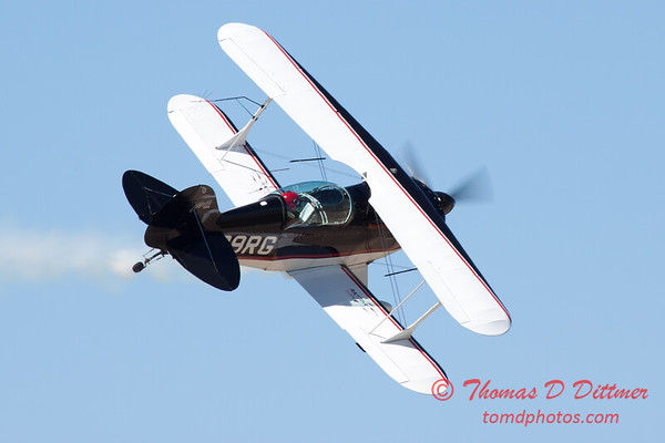 218 - Dick Schulz and the Raptor Pitts perform at the South East Iowa Air Show in Burlington Iowa