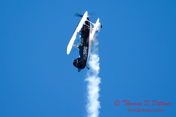 222 - Dick Schulz and the Raptor Pitts perform at the South East Iowa Air Show in Burlington Iowa