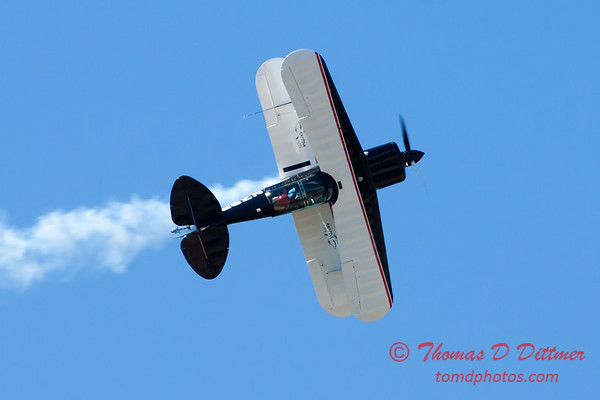 207 - Dick Schulz and the Raptor Pitts perform at the South East Iowa Air Show in Burlington Iowa