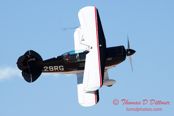 213 - Dick Schulz and the Raptor Pitts perform at the South East Iowa Air Show in Burlington Iowa