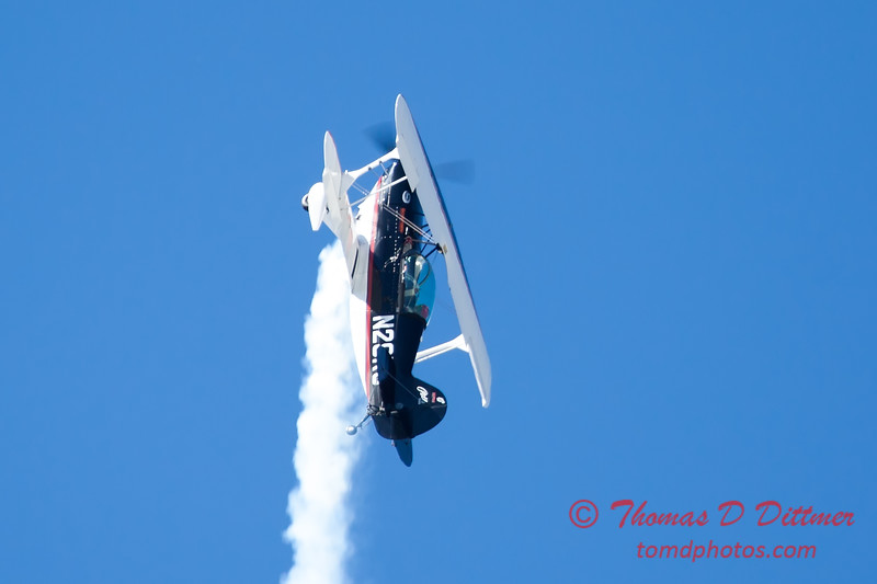 224 - Dick Schulz and the Raptor Pitts perform at the South East Iowa Air Show in Burlington Iowa