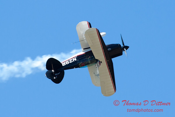 205 - Dick Schulz and the Raptor Pitts perform at the South East Iowa Air Show in Burlington Iowa