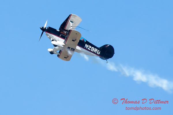 200 - Dick Schulz and the Raptor Pitts perform at the South East Iowa Air Show in Burlington Iowa