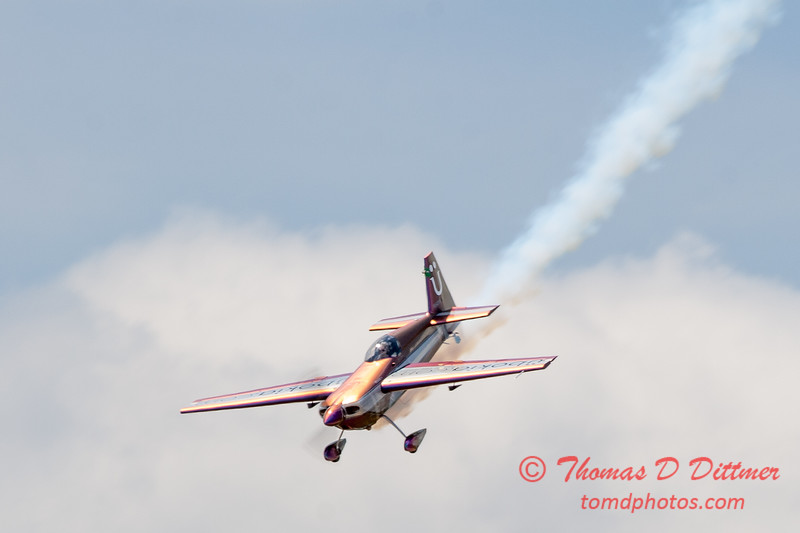 590 - Bill Stein performs in an Edge 540 at the 2012 Rockford Airfest - Chicago Rockford International Airport - Rockford Illinois - Sunday June 3rd 2012