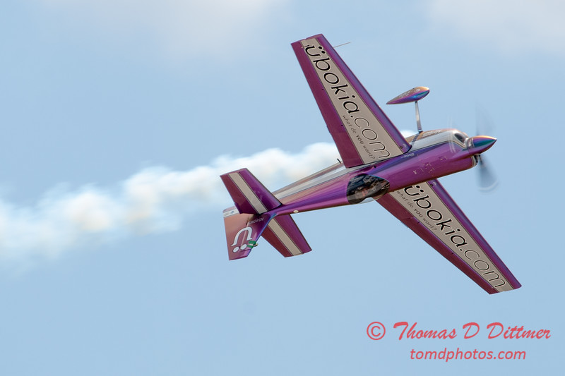 584 - Bill Stein performs in an Edge 540 at the 2012 Rockford Airfest - Chicago Rockford International Airport - Rockford Illinois - Sunday June 3rd 2012