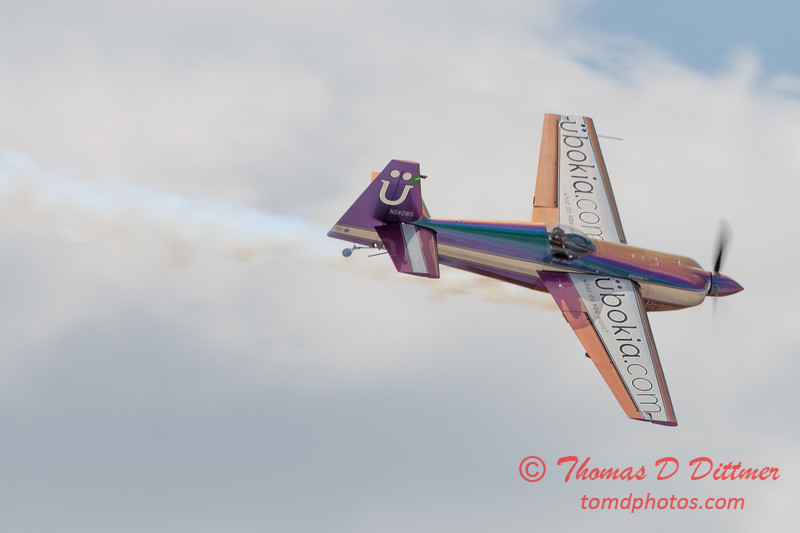 588 - Bill Stein performs in an Edge 540 at the 2012 Rockford Airfest - Chicago Rockford International Airport - Rockford Illinois - Sunday June 3rd 2012
