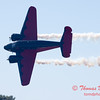 "899 - Matt Younkin performs for fans in his Beechcraft BE18 ""Twin Beech"" at the South East Iowa Air Show in Burlington Iowa"