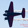 "897 - Matt Younkin performs for fans in his Beechcraft BE18 ""Twin Beech"" at the South East Iowa Air Show in Burlington Iowa"