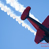 """888 - Matt Younkin performs for fans in his Beechcraft BE18 """"Twin Beech"""" at the South East Iowa Air Show in Burlington Iowa"""