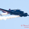 """863 - Matt Younkin performs for fans in his Beechcraft BE18 """"Twin Beech"""" at the South East Iowa Air Show in Burlington Iowa"""