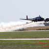 """846 - Matt Younkin performs for fans in his Beechcraft BE18 """"Twin Beech"""" at the South East Iowa Air Show in Burlington Iowa"""