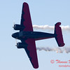 """891 - Matt Younkin performs for fans in his Beechcraft BE18 """"Twin Beech"""" at the South East Iowa Air Show in Burlington Iowa"""