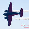 """898 - Matt Younkin performs for fans in his Beechcraft BE18 """"Twin Beech"""" at the South East Iowa Air Show in Burlington Iowa"""